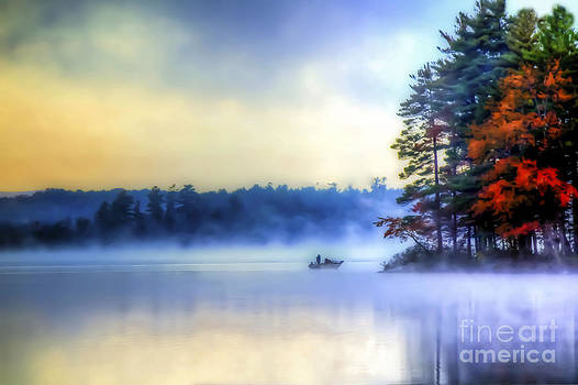 Brenda Giasson - Fall Foliage Fog