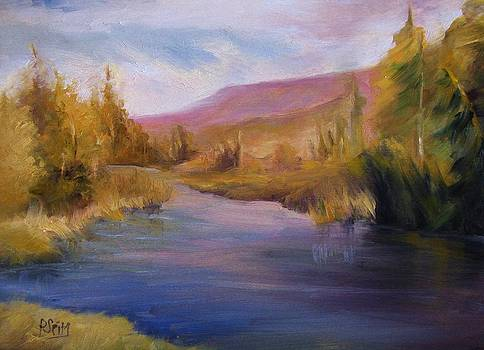 Fall in the Adirondacks by Patricia Seitz