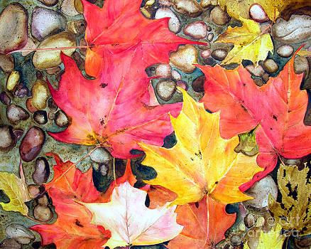 Fall Leaves by Elizabeth  McRorie