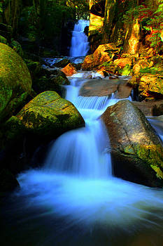 Fall of the Flume Gorge by Patrick Lombard