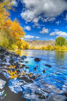 Fall on the Big Hole River  by Kevin Bone