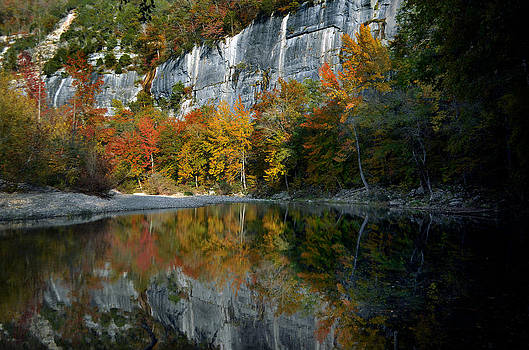 Fall on the Buffalo River by Jeff Rose