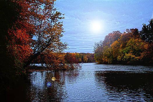 Fall on the Saint joe by Amy Lingle