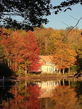 Fall Reflection at Lake St. George by Loretta Orr