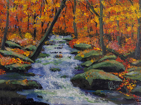 Fall stream by Lee Stockwell