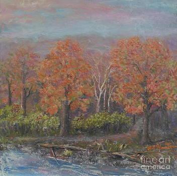 Fall woodlands by Al Hunter