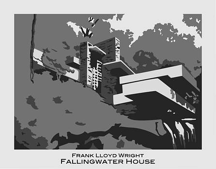 Fallingwater House by Patrick Collins