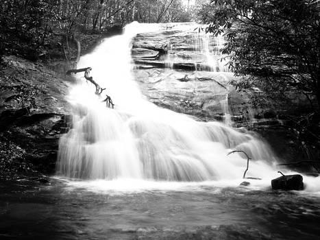 Falls Branch Falls by Valeria Donaldson