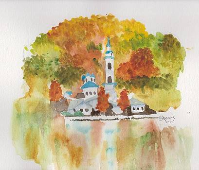 Fall's Colors Reflected by Sandi Stonebraker