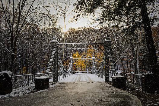Fall's Gentle Snow by Jim Wilcox