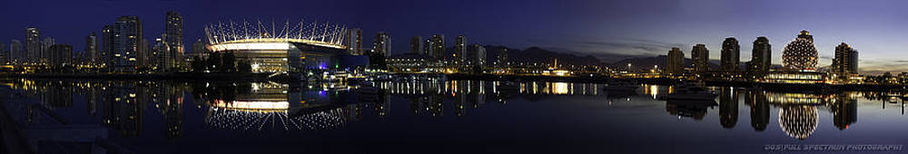 False Creek Panorama  by DGS Full Spectrum Photography