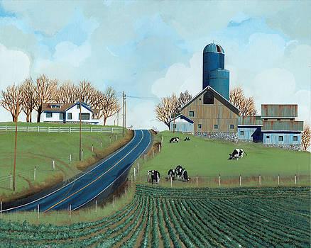 Family Dairy by John Wyckoff