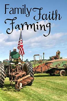 Family Faith Farming Deere by Heather Allen