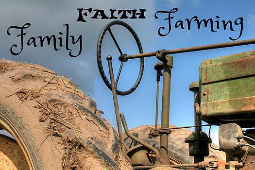 Family Faith Farming Tractor by Heather Allen