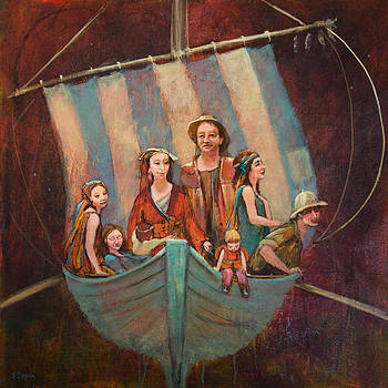 Family Vessel by Jennifer Croom