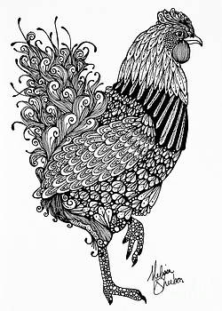 Fanciful Chicken by Melissa Sherbon