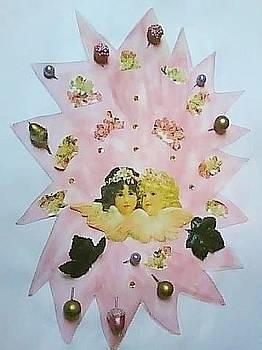 Fancy Pink Angels by Karen Jensen