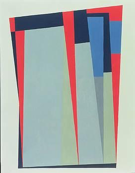 George Dannatt - Fanfare, 1974 Acrylic On Gouache And Pencil