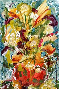 Fantasy Floral 1 by Carole Goldman