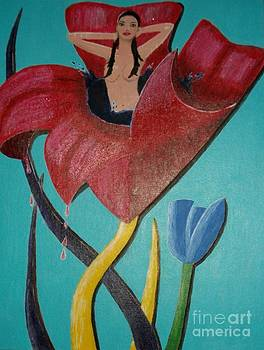 Fantasy flower by Marcus Hudson