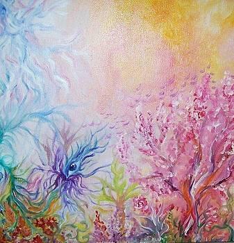 Fantasy Garden by Alina Skye