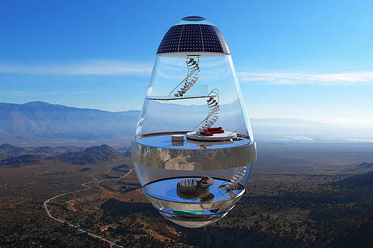 Liam Liberty - Fantasy Home - Floating Glass House