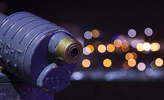 Far Lights at the Santa Monica Pier by Luca Diana