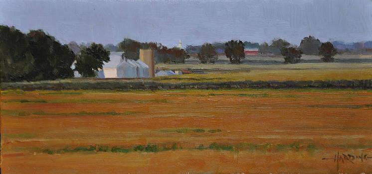 Farm at Sunset by Scott Harding