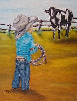 Farm Boy by Nancy Stewart