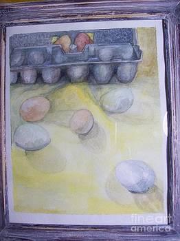 Farm Fresh Eggs by Katie Thomas