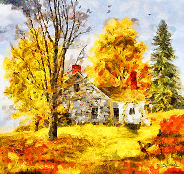 Farm house by George Rossidis