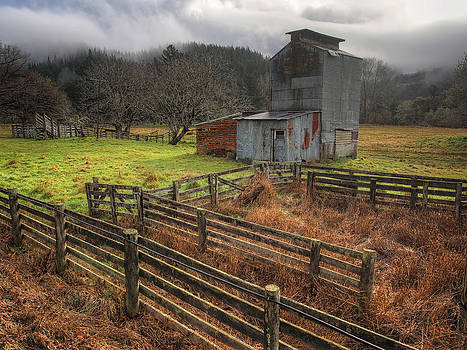 Farm Shed by Kim Andelkovic