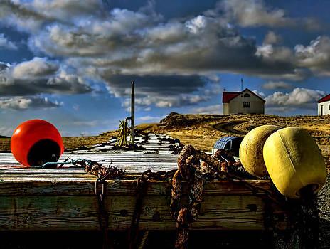 Farm in Iceland. by Konrad Ragnarsson