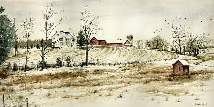 Farm on Belcher Road by Tom Hedderich