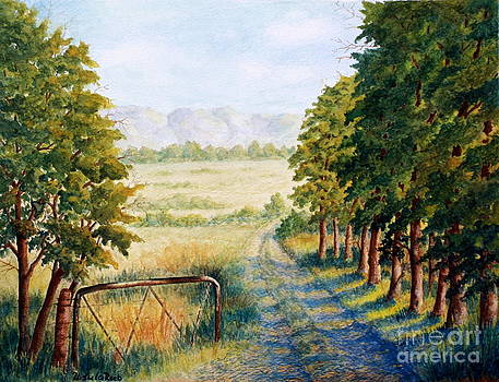 Farm Path by Ursula Reeb