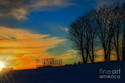 Brenda Giasson - Farm Sunset