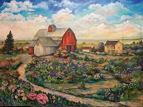 Farm Woman by Kendra Sorum