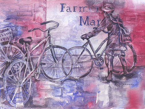 Farmers Market by Kay Johnson