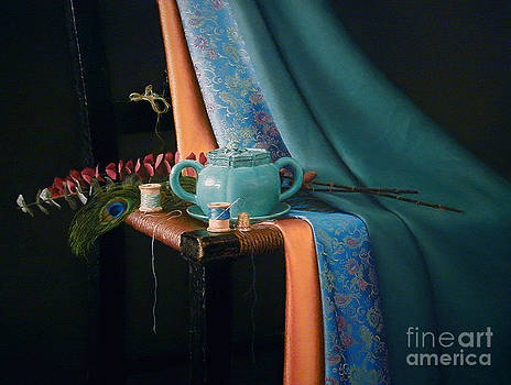 Feather and Threads by Barbara Groff