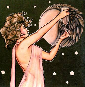 Feathered Moon by Christine Maeda