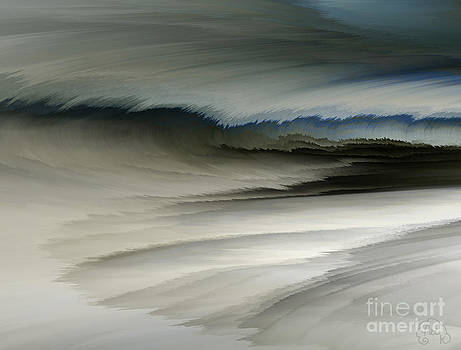 Feathered Seascape by Patricia Kay