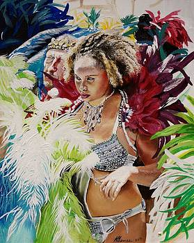 Feisty Carnival Queen by Kelvin James
