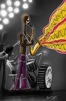 Fela Afrobeat Kuti by Sasank Gopinathan