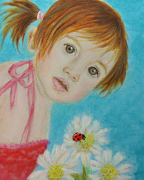 Felisa Little Angel of Happiness and Luck by The Art With A Heart By Charlotte Phillips