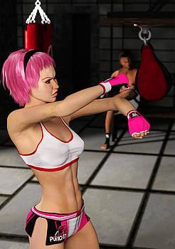 Liam Liberty - Female Boxer Workout