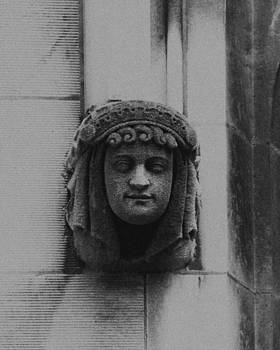 Female Gargoyle University of Chicago 2009 by Joseph Duba