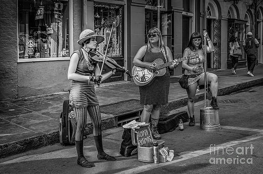 Kathleen K Parker - Female Musicians on Royal St. NOLA