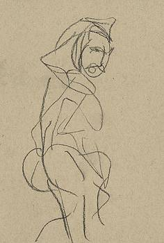Female Study 7 by Drew Eurek