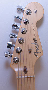 Fender Strat Custom Head Stock by Danny Jones
