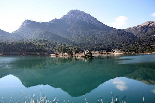 Feneos Lake by Dimitris Lillis